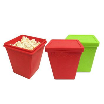 Magic Bowl Lid Platinum Silicone Popcorn Maker