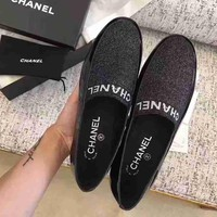 Chanel Women Flats Shoes