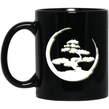 Japanese Bonsai Tree Coffee Mug by Living You Co. | Bonsai Mug, Bonsai Tree Coffee Cup, Bonsai Tree Cup