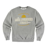 Hollywood Tower Hotel Sweatshirt for Men | Disney Store