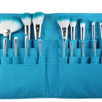 SET 750 - LIMITED EDITION AQUA BELT BRUSH SET **NEW**