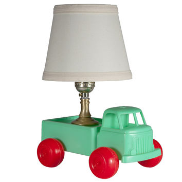 Small Vintage Toy Truck Lamp