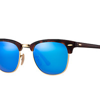 Look who's looking at this new Ray-Ban Clubmaster Flash Lenses