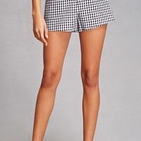 Honey Punch Checkered Shorts
