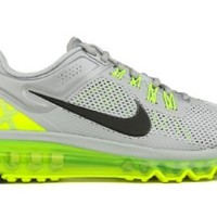 Nike Air Max+ 2013 Mens Running Shoes 554886-007 Wolf Grey 7.5 M US