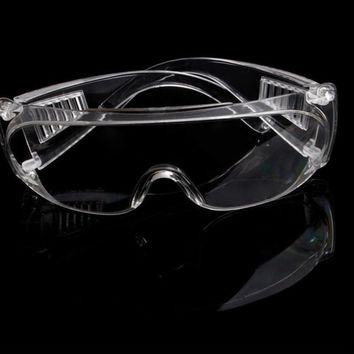 Cycling Work Eyewear Clear Protective Safety Goggles Glasses Window-shades For Eye Protection Lab