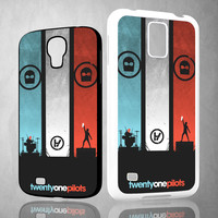 twenty one pilots X0391 Samsung Galaxy S3 S4 S5 (Mini), Note 2 3 4, HTC One M7 M8 Cases