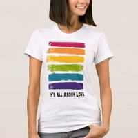 It's All About Love Rainbow T-Shirt