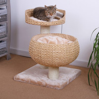 Pet Pals Eco Friendly Double Nesting Cat Condo