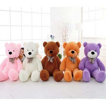 "1Pcs 39""100cm Giant Teddy Bear Plush Toys Stuffed Teddy Bear"