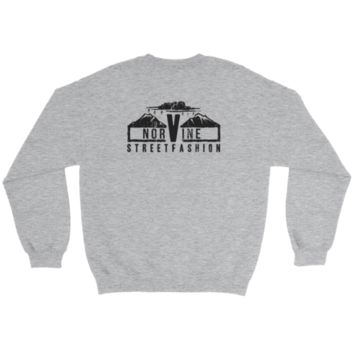 Mountain Crewneck Sweatshirt F+B Prnt