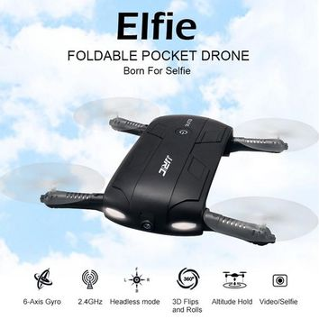 Pocket drone JJRC H37 ELFIE Selfie 6-Axis Gyro WIFI FPV mini drone Quadcopter with 0.3MP Camera Foldable