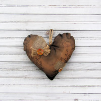 primitive heart ,wedding ,valentines heart,easter, primitives decor, country decor, Decorative heart, Rustic heart, Wall Decor, Home decor