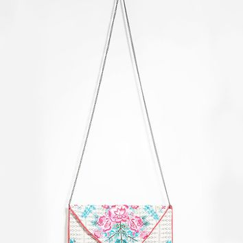 Charade Rose Clutch
