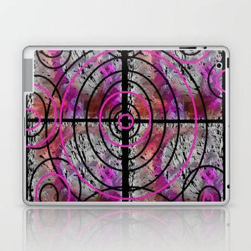 PINK MAZE Laptop & iPad Skin by violajohnsonriley