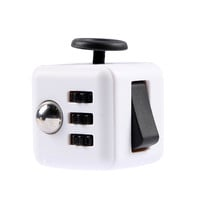 Squeeze Fun Stress Reliever Gifts Fidget Cube Relieves Anxiety and Stress Juguet For Adults Children Fidgetcube Desk Spin Toys