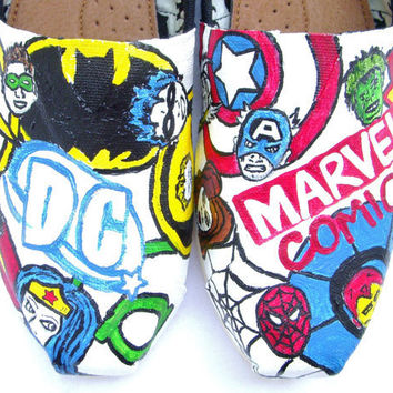 The Heroes - Superheroes Custom TOMS