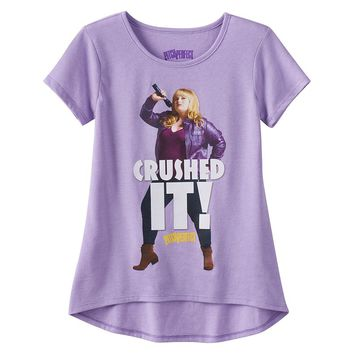 Pitch Perfect Fat Amy ''Crushed It'' Graphic Tee - Girls 7-16, Size: