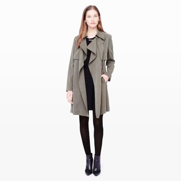 Lindy Wrap Trench