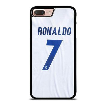 RONALDO CR7 JERSEY REAL MADRID iPhone 8 Plus Case Cover