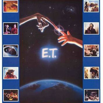 E.T. the Extra-Terrestrial 1982 Movie Poster 23x35