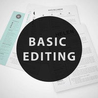 Resume Template - Add-on for Basic Editing by Resume Book