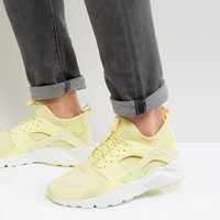 Nike Huarache Run Ultra Trainers In Yellow 833147-701 at asos.com