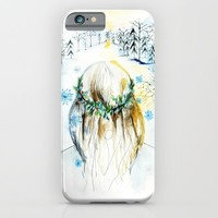 Winter Glow iPhone & iPod Case by Holly Sharpe