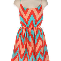 Coral Me Happy Dress