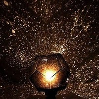 Astrostar Astro Star Sky Laser Projector Cosmos Night Light Lamp Romantic Star Light , Assembly By Yourself