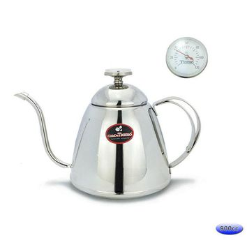 VONESC6 900ml coffeepot coffee percolator Water Kettle with thermometer