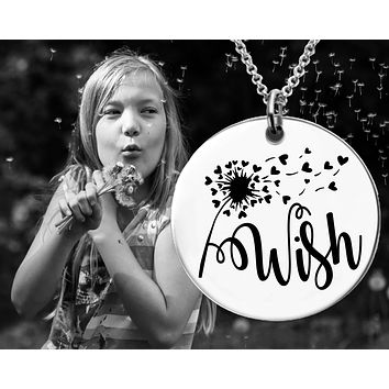 Daughter Gift | Teen Gifts | Wish Necklace