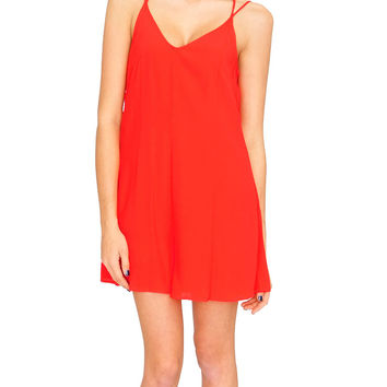 Morning Light Romper - Red