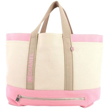 Chanel Sport Line Tote Canvas Large