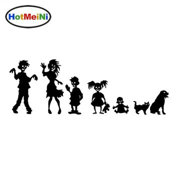 HotMeiNi 20*9cm Devil Vampire Zombie Family Car Sticker for Minicab SUV Motorcycle Car Styling Waterproof  Vinyl Decal 10 Color