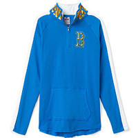 UCLA Bling Half-Zip Tunic - PINK - Victoria's Secret