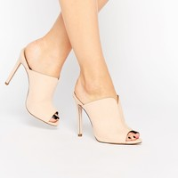 ASOS HALO Heeled Mules
