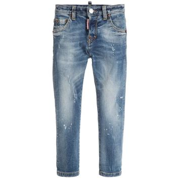 Dsquared2 Boys Blue 'Cool Jeans'