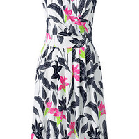 Women's Fit and Flare Dress - Print