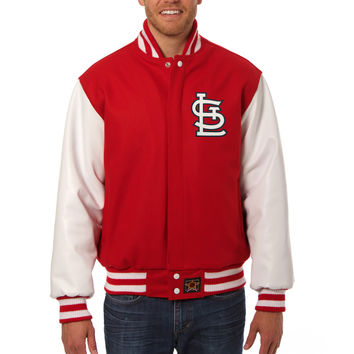 St. Louis Cardinals Wool And Leather Varsity Jacket