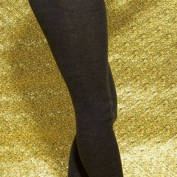Roll Waist Tights with Drawstring