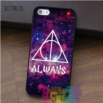 SCOZOS Harry Potter always sign cell phone case for iphone X 4 4s 5 5s 5c SE 6 6s 6 plus 6s plus 7 7 plus 8 8 plus #qz182