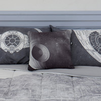 Star Wars Death Star Decorative Pillow