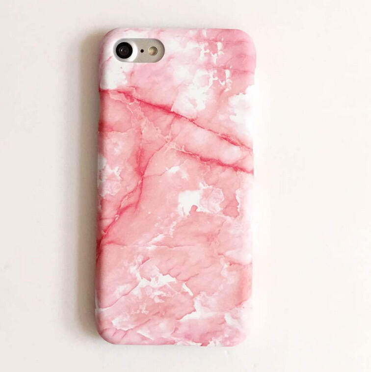 High-quality Nanometer Protect Pink Marble Cover for iPhone 7 7Plus    iPhone 6 6s Plus 439f4d915e