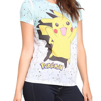 Pokemon Many Pikachus Girls T-Shirt | Hot Topic