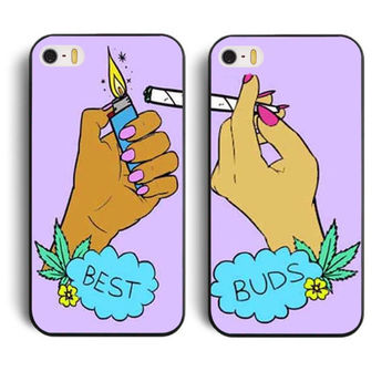 Best Buds IPhone 5 & 6 Cell Phone Case Set