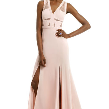 BCBGMAXAZRIA Last Summer Rose Gown