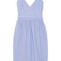 James Perse | Ruched stretch-jersey dress | NET-A-PORTER.COM