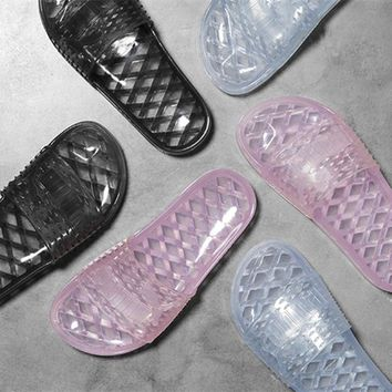 "Charmvip ""PUMA"" Fenty Rihanna Jelly Slid Sandal Slipper Shoes"
