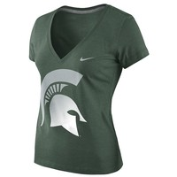 Nike Michigan State Spartans Tee - Women's